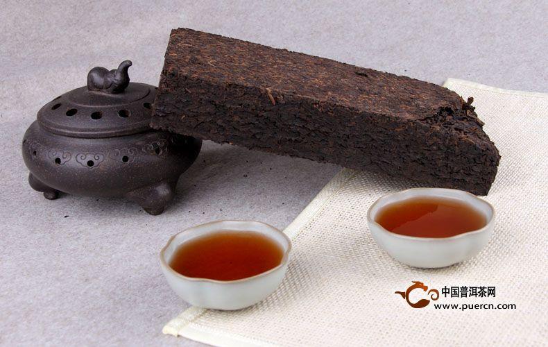 2013年中茶闻思砖熟茶 1000g