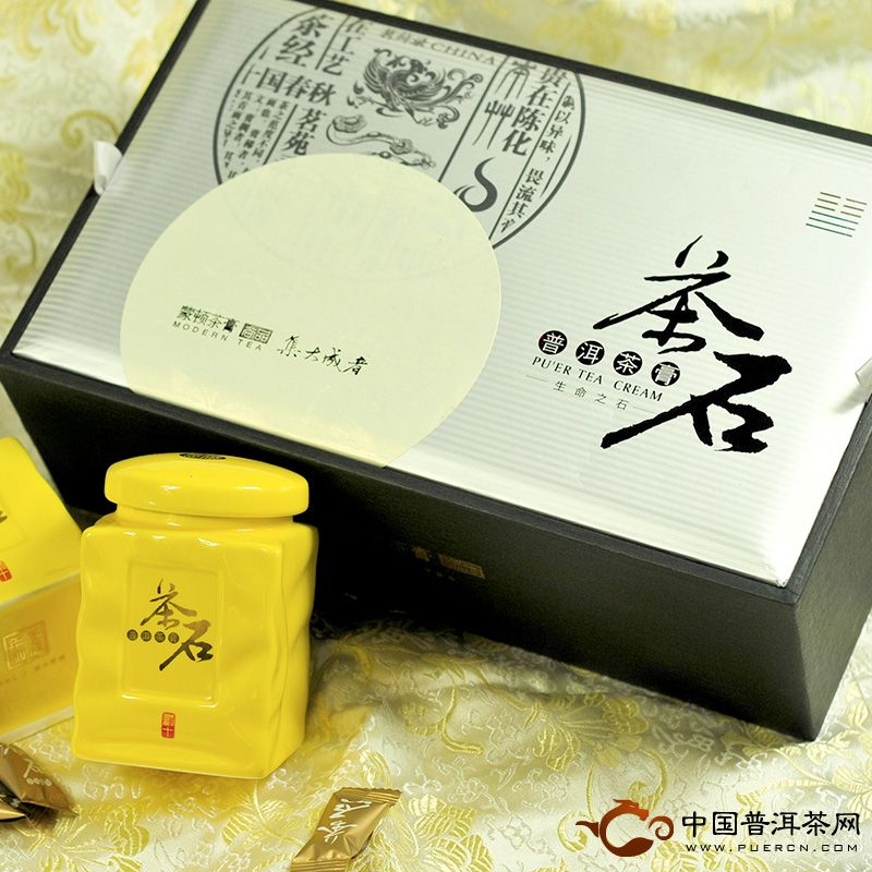 蒙顿(茶石)普洱茶膏40克