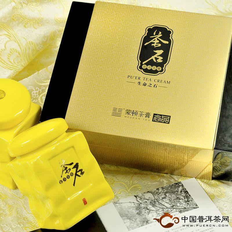 蒙顿(茶石)普洱茶膏80克
