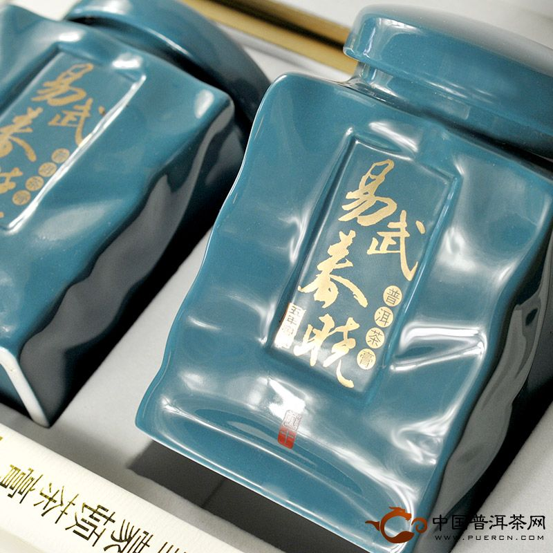 蒙顿易武春晓(五年窖藏)普洱茶膏80克