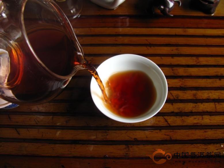 2012年中茶牌普洱茶7581熟砖四片装(熟茶) 1000克