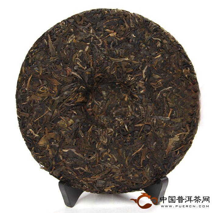 2011年中茶牌普洱茶中茶红印圆茶(生茶) 357克