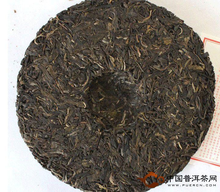 2011年中茶牌普洱茶甲级圆茶(生茶) 357克