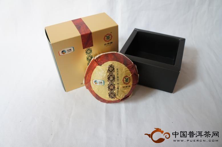 2012年中茶牌普洱茶贡沱(熟茶) 250克