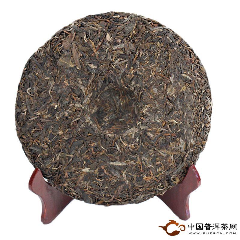 2013年老同志易武正山(生茶) 400克