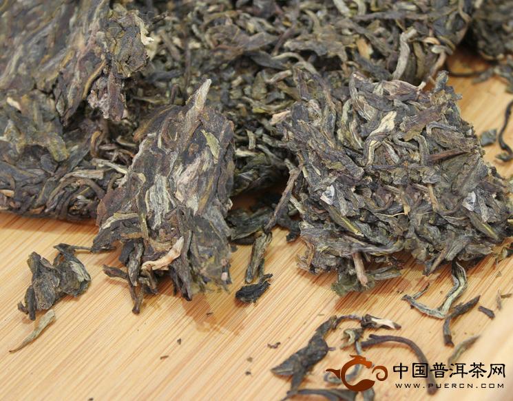2013年中茶高山甘露 357克