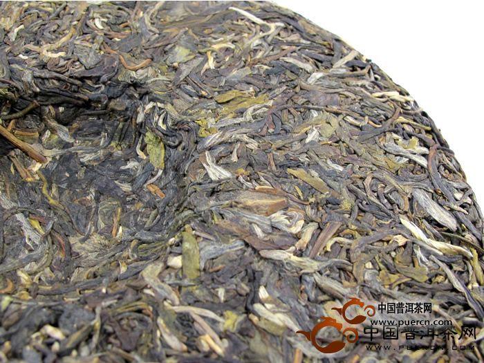 2013年中茶密蕴香 生茶 357克