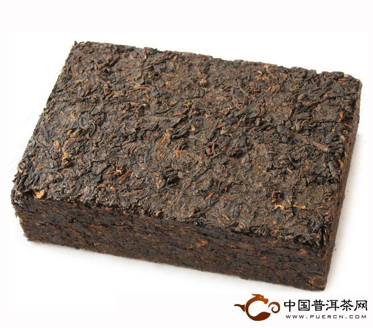 2012年中茶牌普洱茶厚德茶砖昆明茶厂(熟茶) 600克