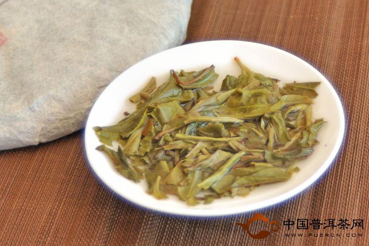 2013年天弘那卡(生茶) 357克