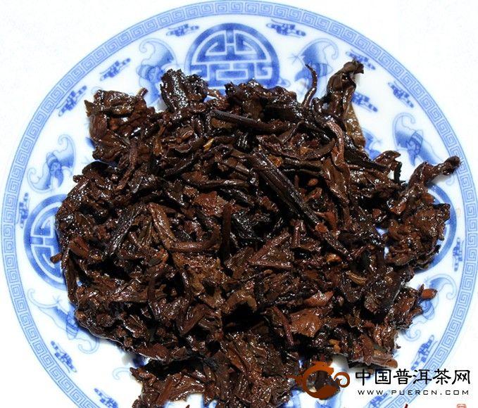 2012年老同志茗门古韵熟茶(熟茶) 357克