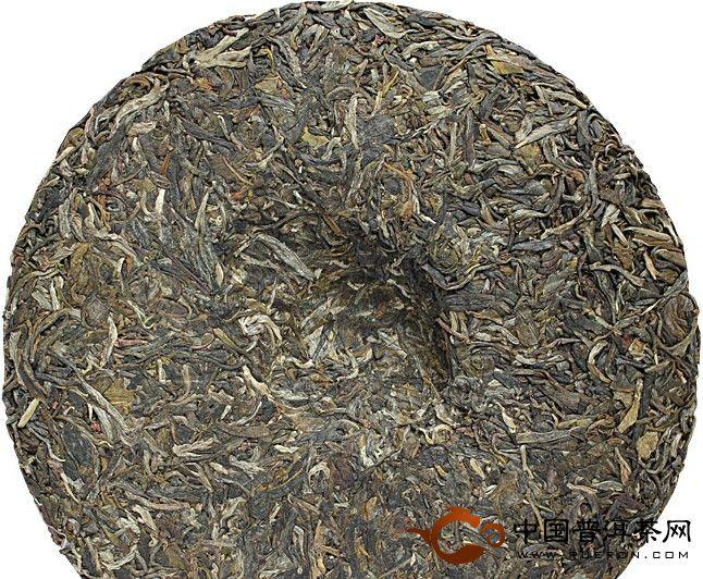 2012年老同志9948青饼(生茶) 357克