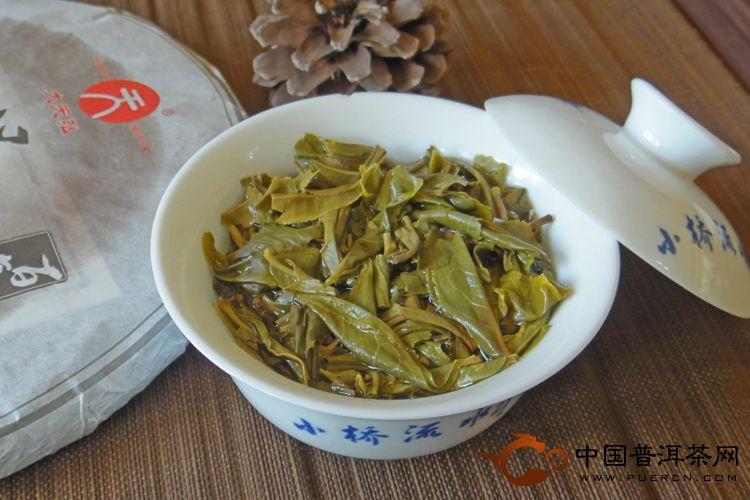 2013年大天弘百年景迈(生茶) 357克
