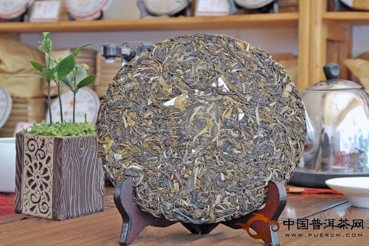 2013年大天弘百年易武(生茶) 357克