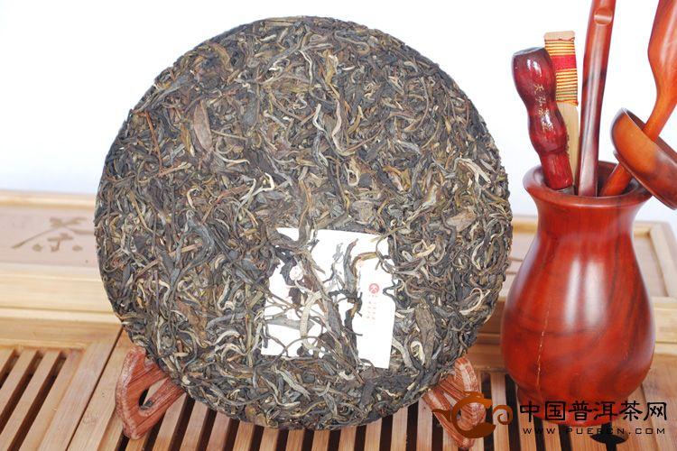 2011年天弘茶业易武刮风寨(熟茶) 357克