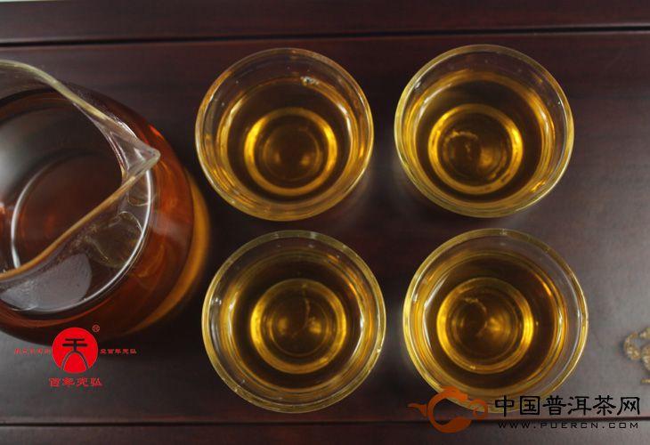 2007年天弘茶业南糯山古树茶(生茶) 357克