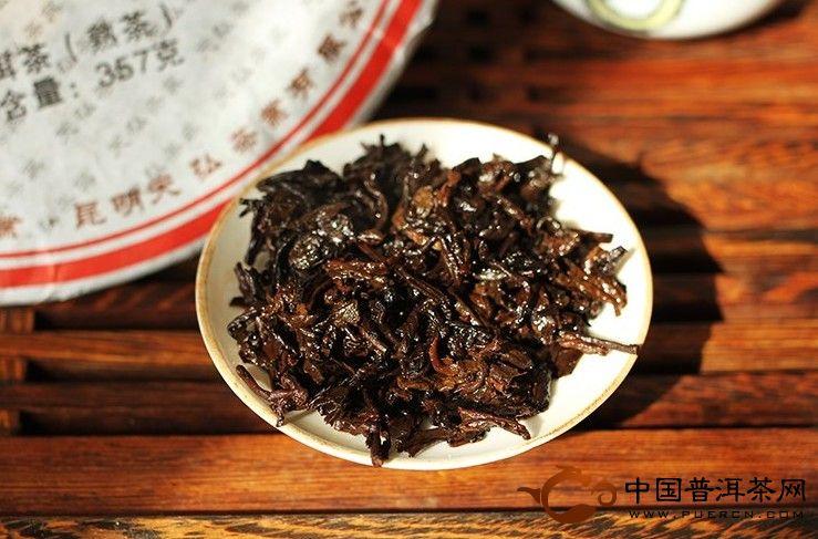 2012年天弘茶业弘普7632(熟茶 ) 357克