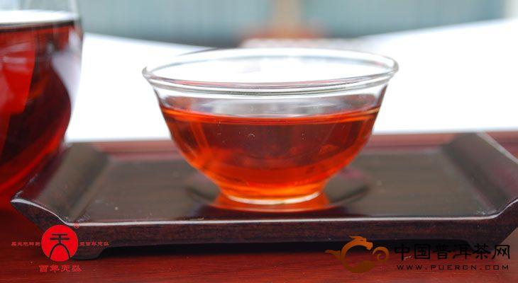 2011年天弘茶业野生茶王饼(熟茶) 357克