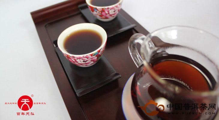 2011年天弘茶业班盆老树传奇(熟茶) 400克