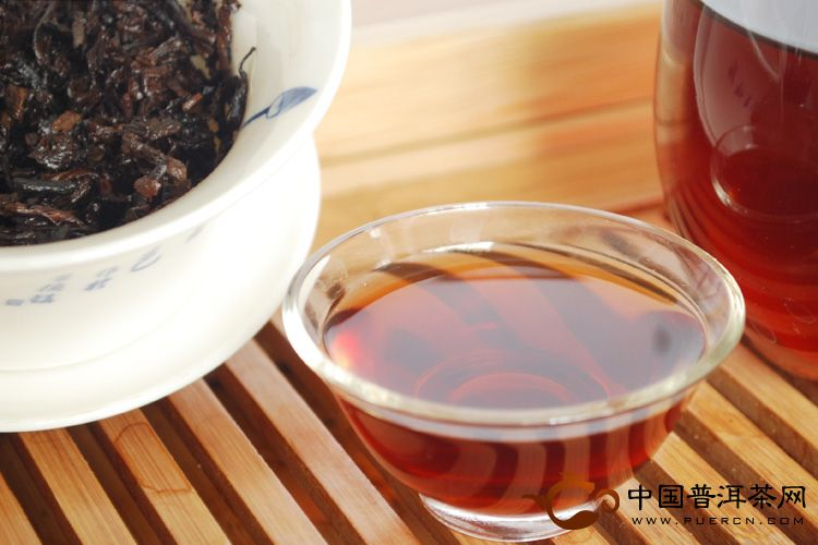 2009年天弘茶业论道(熟茶) 500克