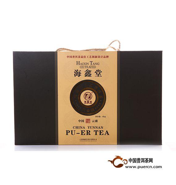 2011年海鑫堂八骏图普洱茶砖(生茶)4000克