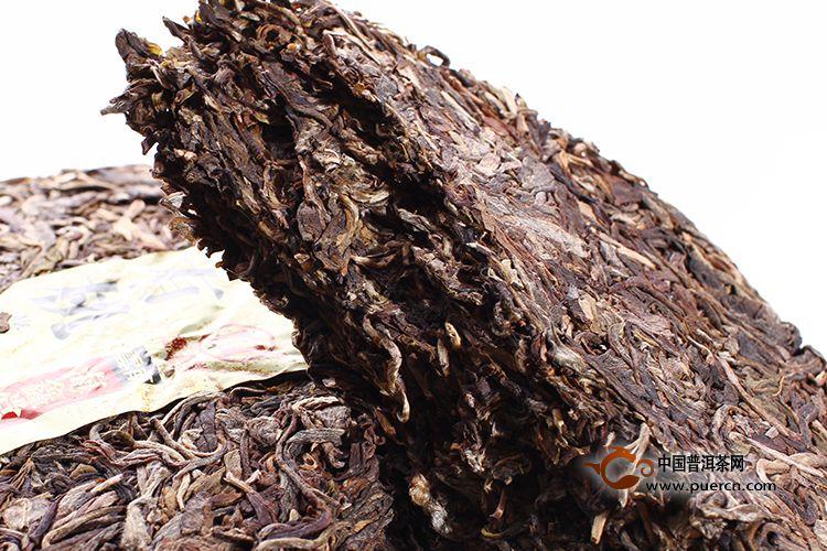 2008年海鑫堂有机普洱茶(生茶)400克