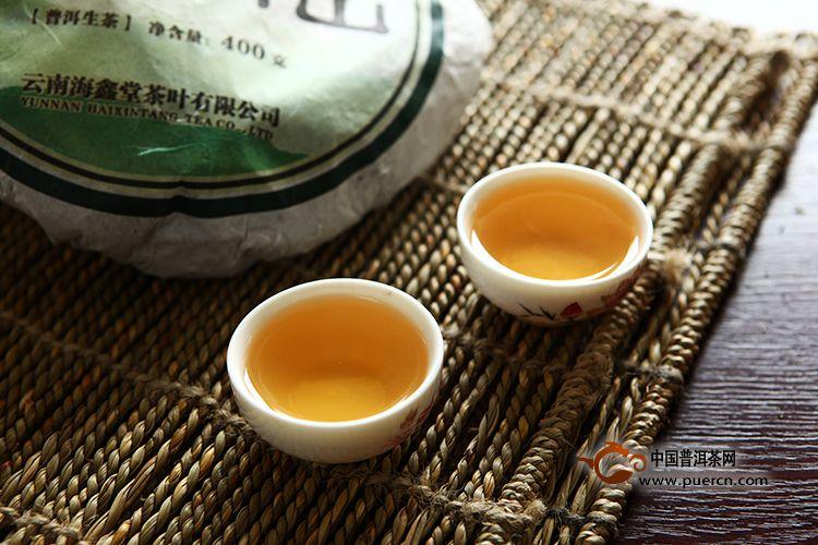 2011年海鑫堂明前布朗山(生茶)