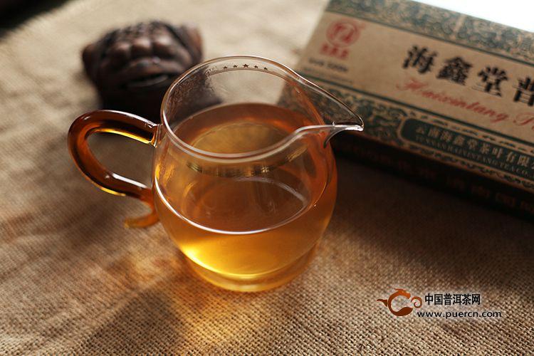2011年海鑫堂小金砖(生茶)500克