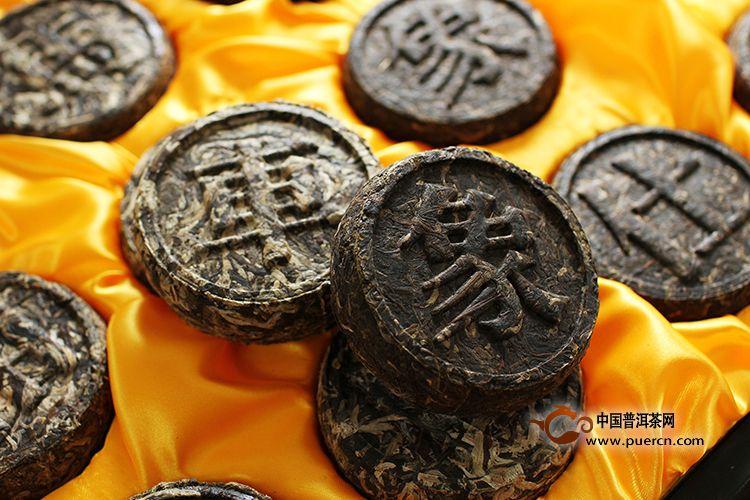 2011年小象棋普洱茶砖(生茶)