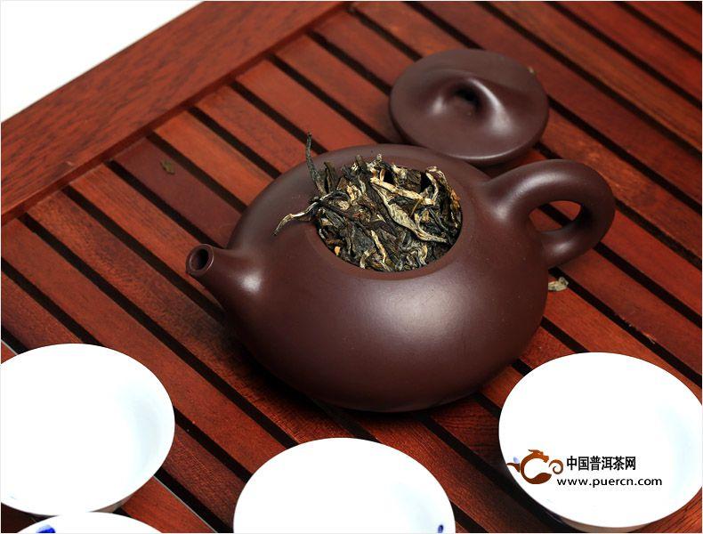 书剑普洱戎马江湖古树茶包装图