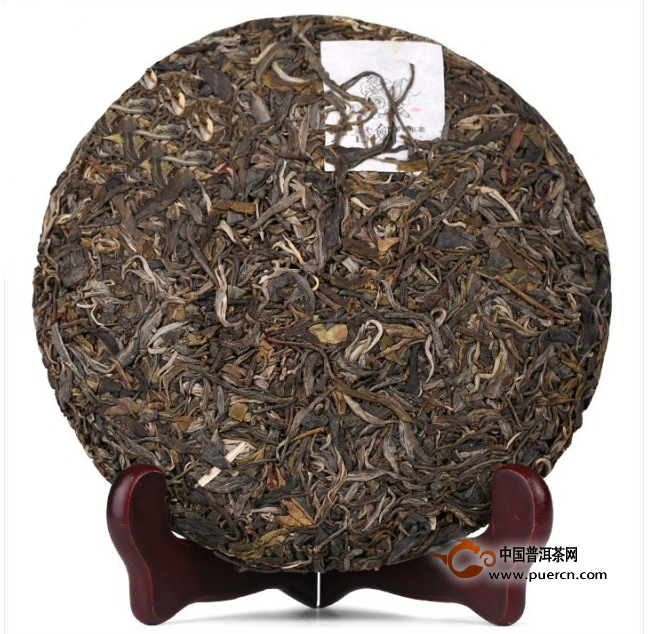 2013年书剑普洱贺开古树茶(生茶)357克