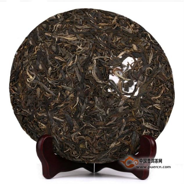 书剑普洱班盆古树茶2013年03