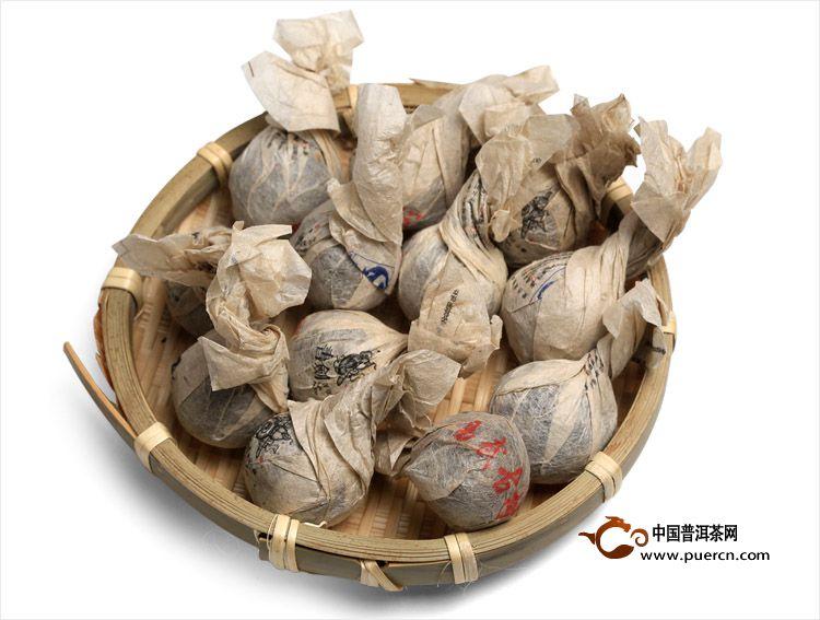 2013年书剑普洱易武古树茶逍遥丹生茶8克