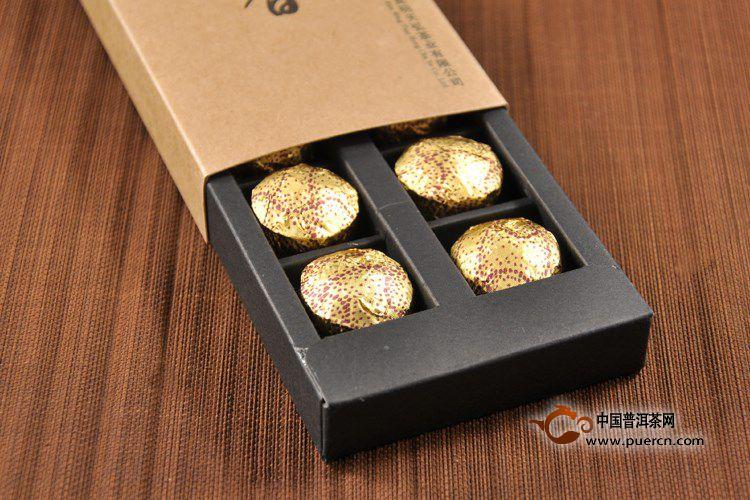 2012奶奶天弘韵香小沱茶(熟茶)6g*14粒/盒