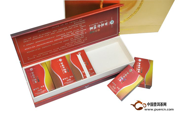 2012年天弘百年老班章(熟茶)420克