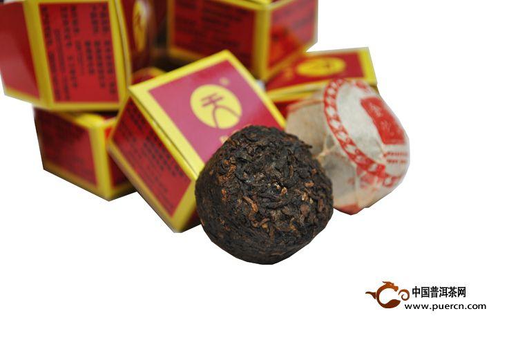 2012年天弘百年老班章(熟茶)420克2012年天弘百年老班章(熟茶)420克