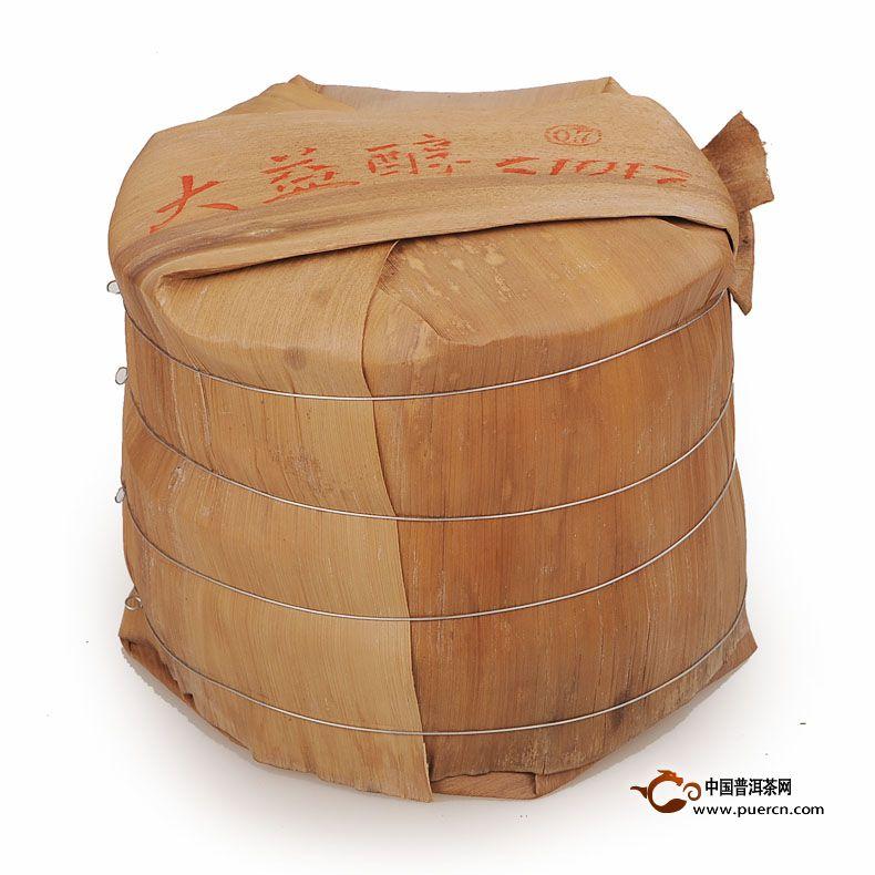 2011年大益醇(生茶)357克 6