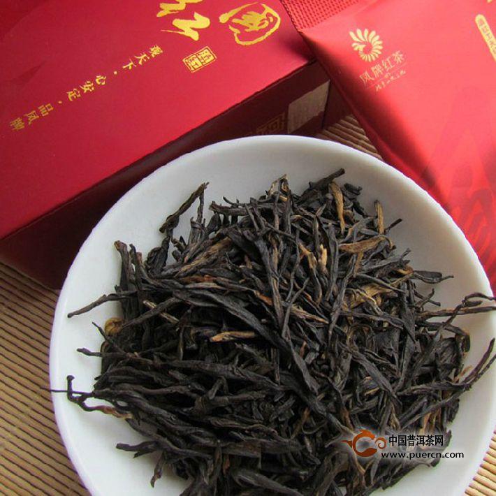 2013年凤牌滇红茶 中国红(红茶)80克