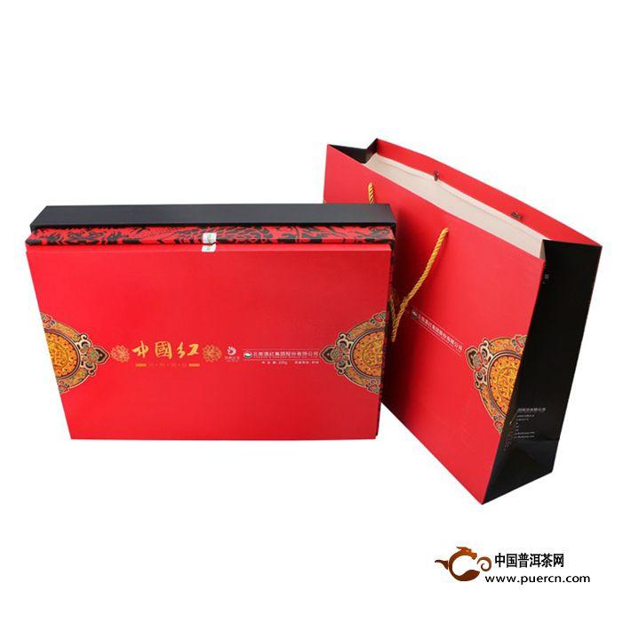 2013年凤牌滇红茶 中国红(红茶)200克