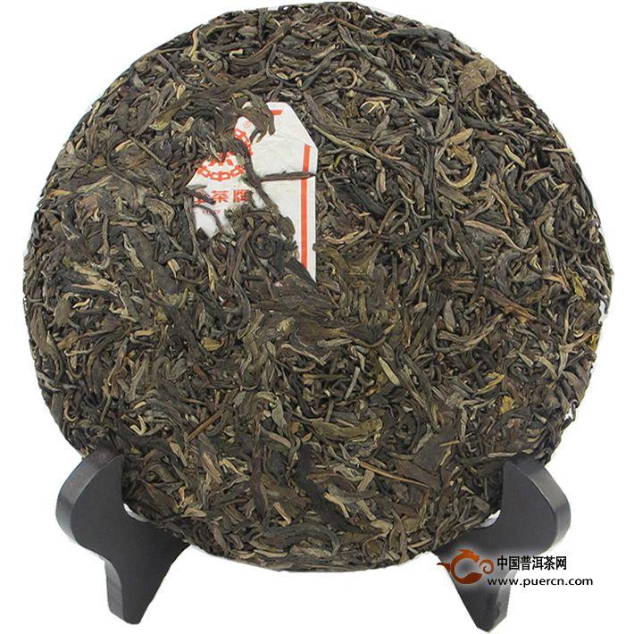 2012年中茶布朗大树 3