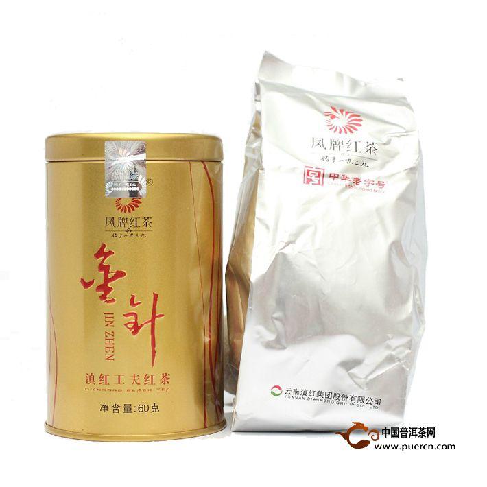 2013年凤牌滇红金针(听装)60克