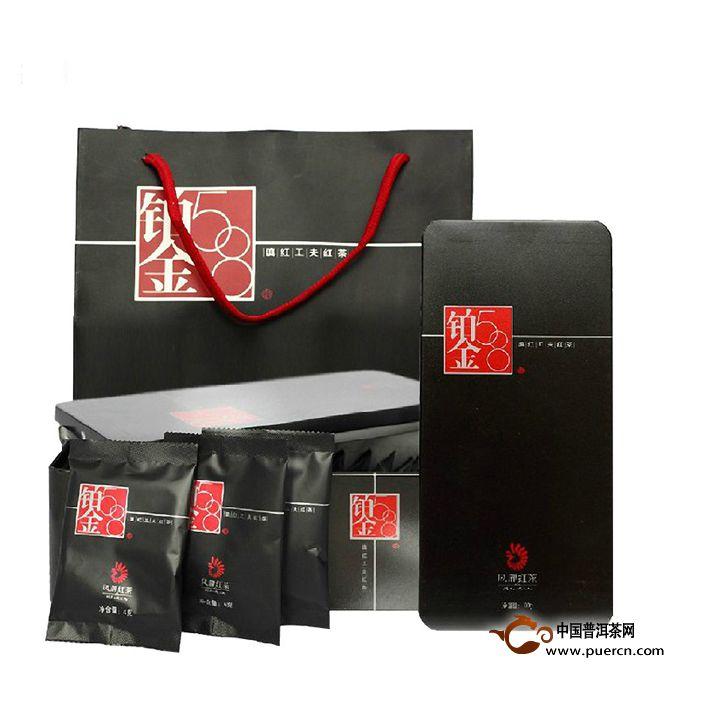 2013年凤牌滇红铂金58 100克