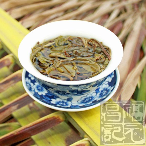 2012年福元昌蛮砖古树茶(生茶)357克