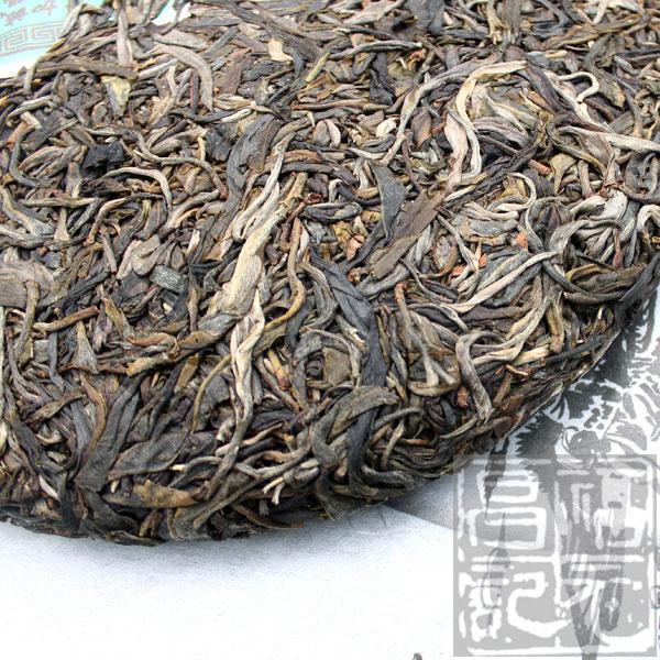 2012年福元昌莽枝古树茶(生茶)357克