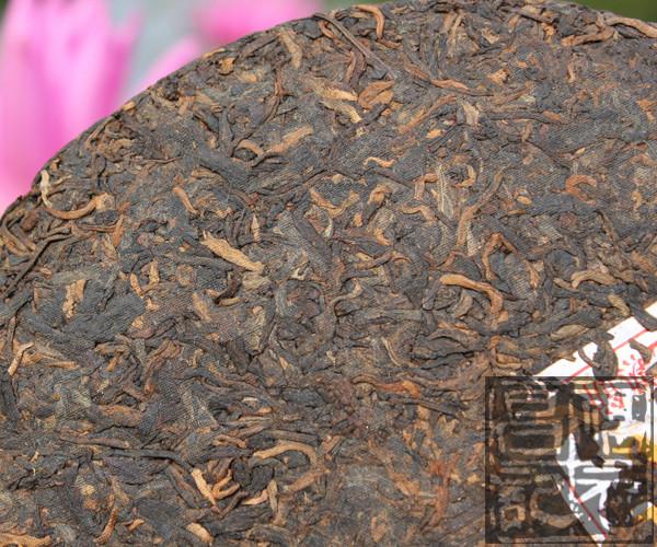 2012年福元昌经典99熟饼(熟茶)357克