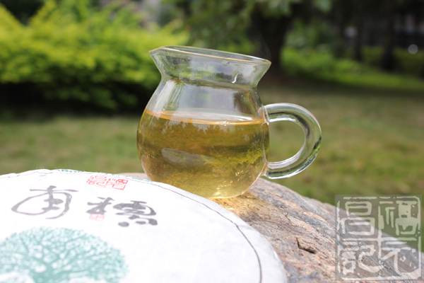 2012年福元昌元系列南糯古树茶(生茶)357克