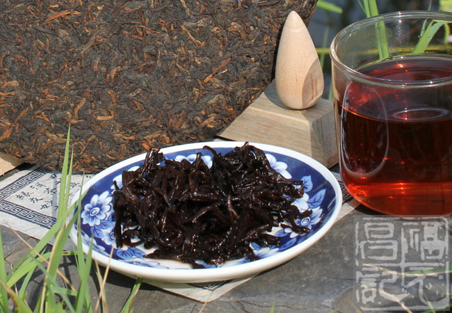 2013年福元昌经典茶王树(熟茶)357克