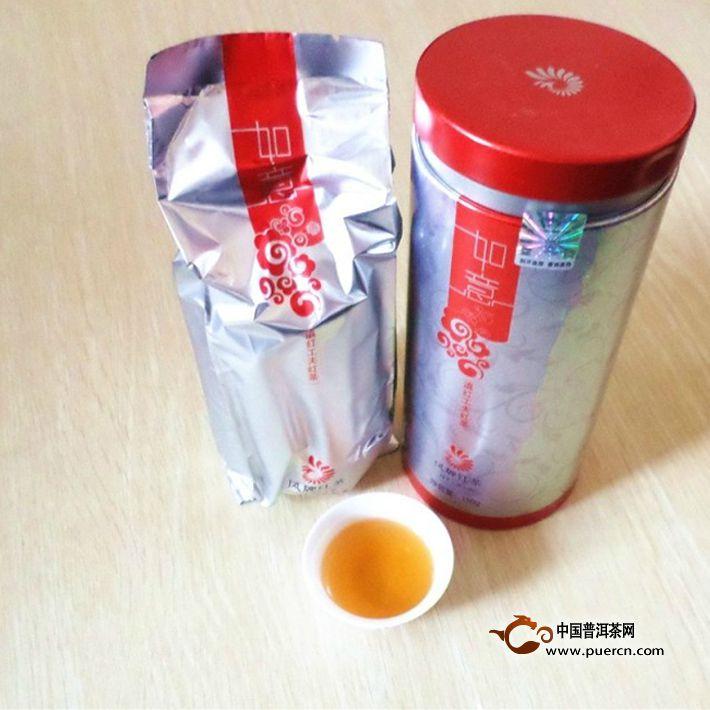 2013年凤牌滇红如意 150克