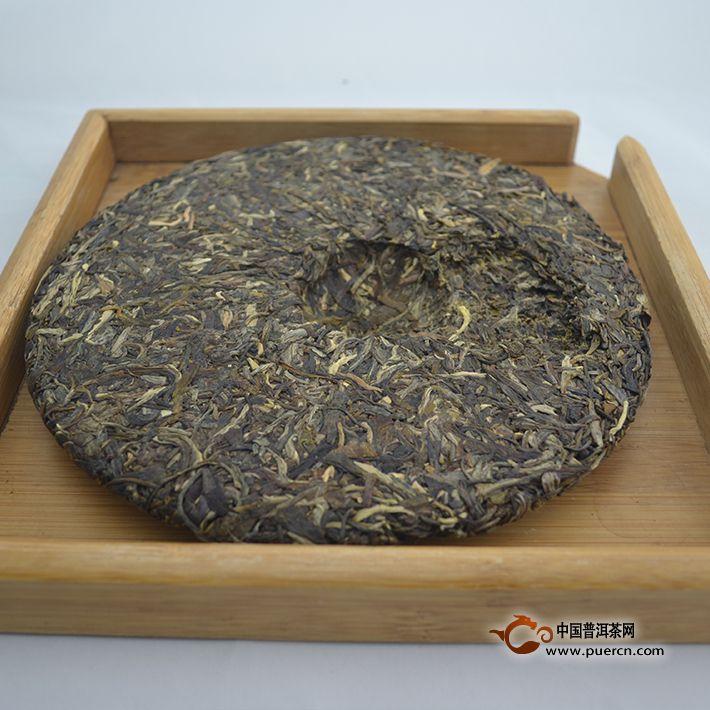 2014年老同志深山老树(生茶)500克2014年老同志深山老树(生茶)500克