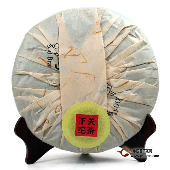 2013年下关原叶生茶357克 3