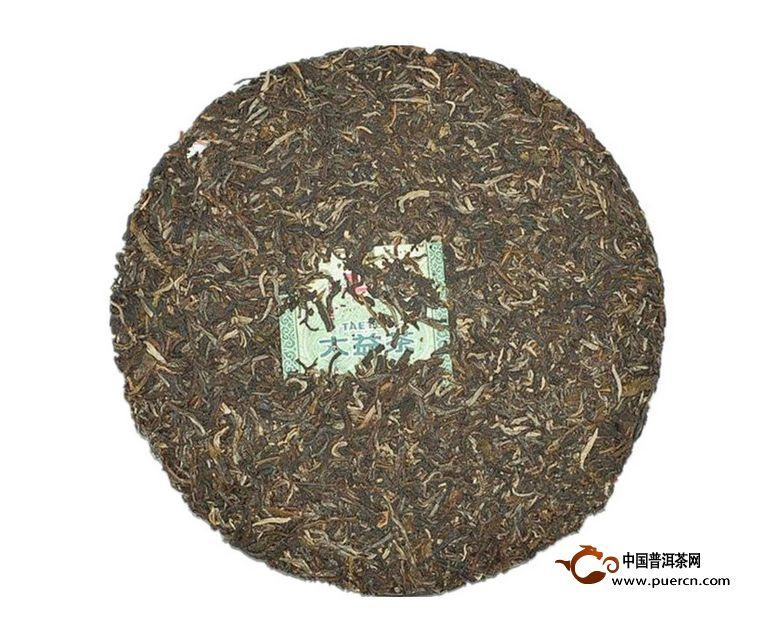 2014年大益7542生茶1401批357克 2